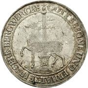 ⅓ thaler Christof Friedrich et Jost Christian – avers