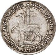 ⅓ thaler Christof Friedrich et Jost Christian (Reformation) – avers