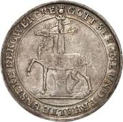 ⅓ thaler Jost Christian et Christof Ludwig II – revers