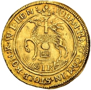 1 ducat Johann Martin – avers