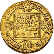 1 ducat Johann Martin – revers