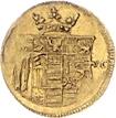 ⅛ ducat Christof Ludwig II et Friedrich Botho – revers
