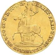2 ducat Christof Friedrich et Jost Christian – avers