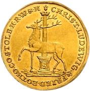 2 ducat Christof Ludwig II et Friedrich Botho – avers