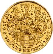 2 ducat Christof Ludwig II et Friedrich Botho – revers