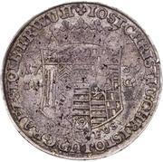 ⅔ thaler Jost Christian et Christof Ludwig II – avers