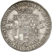 ⅔ thaler Karl Ludwig et Heinrich Christian Friedrich – avers