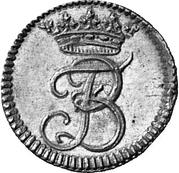 ¼ ducat Christof Ludwig II. et Friedrich Botho – avers
