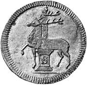 ¼ ducat Christof Ludwig II. et Friedrich Botho – revers