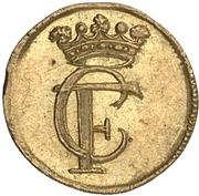 ¼ ducat Christof Friedrich – avers