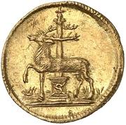 ¼ ducat Christof Friedrich – revers