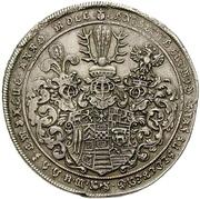 1 Thaler - Christof Ludwig I (Ausbeutetaler) – avers