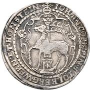 1 thaler Johann – avers