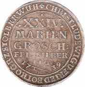24 Mariengroschen - Christof Ludwig II & Friedrich Botho – avers