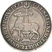 ⅔ thaler Christoph Friedrich et Jost Christian – avers