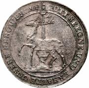 ⅓ Thaler - Christof Ludwig II & Friedrich Botho – revers