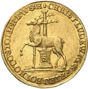 1 ducat Christoph Ludwig II et Friedrich Botho – avers