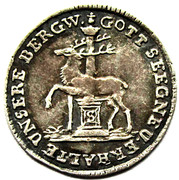 1/24 thaler Christof Friedrich and Jost Christian – revers
