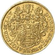 1 ducat Christoph Ludwig II et Friedrich Botho – revers