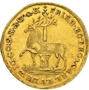 1 ducat - Frederick Botho et Charles Louis – avers