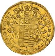 1 ducat - Frederick Botho et Charles Louis – revers