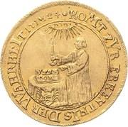1 ducat Christof Friedrich and Jost Christian (200 ans de Réformation) – avers