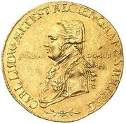 1 ducat Karl Ludwig – avers