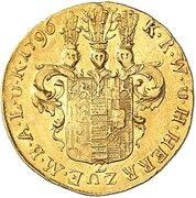 1 ducat Karl Ludwig – revers