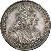 1 thaler Christof Friedrich et Jost Christian (200 ans de réformation) – avers