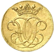 ½ ducat Christoph Friedrich et Jost Christian – avers