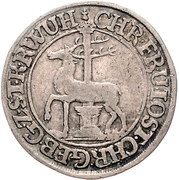 1/12 thaler Christof Friedrich et Jost Christian – avers