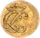 1/16 ducat Christof Ludwig II – avers
