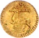 1/16 ducat Christof Ludwig II – revers