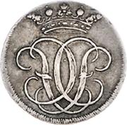 ½ ducat Christoph Friedrich (Frappe essai en argent) – avers