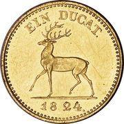 1 Ducat - Heinrich XII – revers