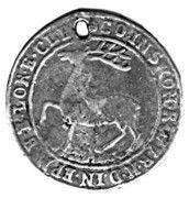 ⅓ thaler Ernst et Ludwig Christian – revers