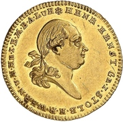 1 Ducat - Heinrich Ernst II. – avers