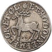 1 groschen Heinrich Ernst I – revers