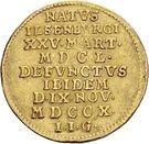 1 ducat Ludwig Christian – revers