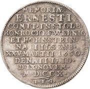 ¼ thaler Ludwig Christian (Mort) – revers