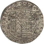 ⅓ thaler Heinrich Ernst I – avers