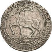 ⅓ thaler Heinrich Ernst I – revers
