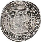 ⅙ thaler Heinrich Ernst I – avers