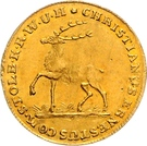 1 ducat Christian Ernst I. – avers