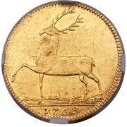 1 ducat Christian Ernst I. – revers