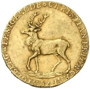 1 ducat Christian Friedrich (Essai) – avers