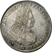 1 thaler Ludwig Christian (Mort) – avers