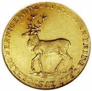 1 Ducat - Christian Friedrich (Noces d'or) – avers