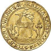 2 ducat Heinrich Ernst I – avers