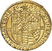 2 ducat Heinrich Ernst I – revers
